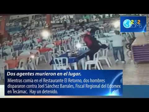 Atentan contra Fiscal Regional de Tecámac