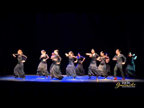 FLAMENCO AVANZADO. FIN DE CURSO 2015. Escuela de Flamenco y Danza Lucía Guarnido