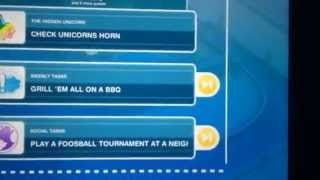 Sims Free Play Foosball Tournament at a neighbor's house