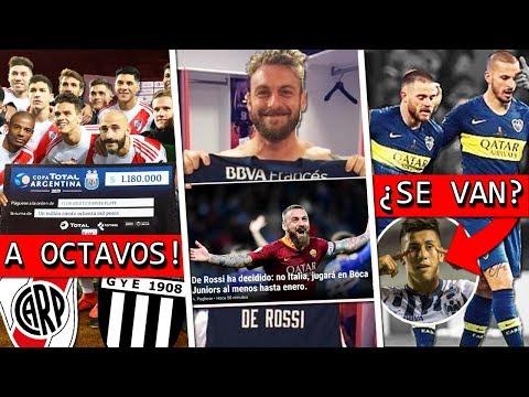 RIVER gana por PENALES + DE ROSSI ¿llega a BOCA? + NANDEZ y BENEDETTO se VAN y ¿VIENE MEZA? 🤔
