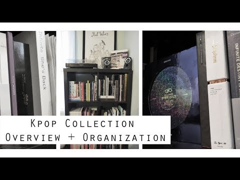 Collection | Kpop Collection Overview + Organization (August 2017)