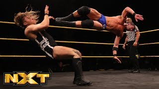 Roderick Strong vs. Pete Dunne - WWE United Kingdom Championship Match: WWE NXT, Feb. 14, 2018