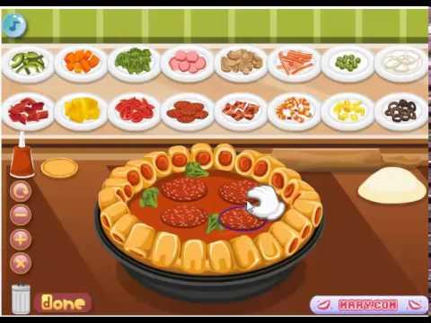 เกมส์ทำอาหาร เกมส์ทำพิซซ่า เกมส์มันๆ