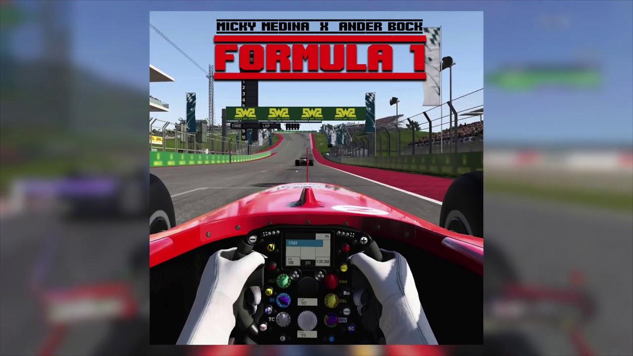 Formula 1 - Micky Medina feat. Ander Bock   Trap Cristiano 2020 #AwesomeLyricsOficial