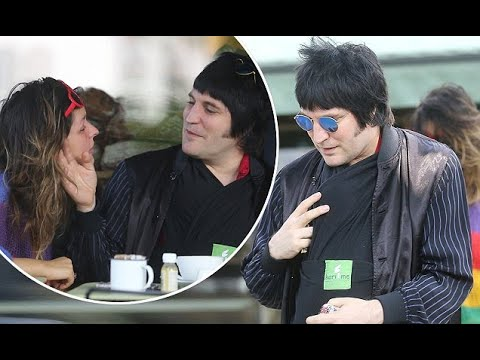 Noel Fielding Cosies Up To Baby Son Before Gazing At Lliana Bird