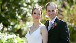 Anna & Ryan Edinburgh Kirknewton House Stables Wedding Highlights Film
