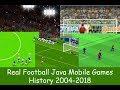 History of Real Football Java Games (2004-2018)
