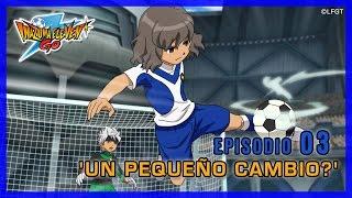 Inazuma Eleven Go Galaxy - Episodio 3 español «Un pequeño cambio»