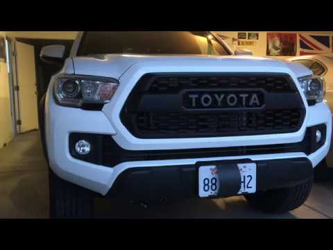 2016 Toyota Tacoma Trd Pro Grille Install The 150