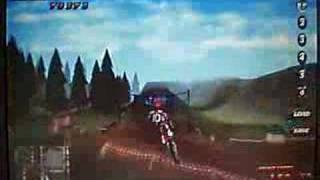 motocross mania stunt video