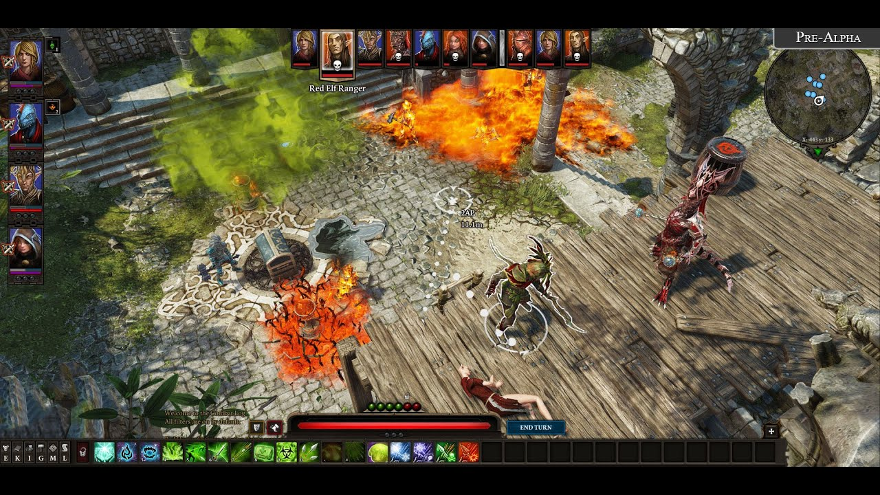 Divinity Original Sin 2 Gameplay Full Pvp Match Pc