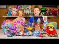 Disney Aladdin & Toy Story 4 Toys Kids Surprise Eggs Blind Bags | Kinder Playtime It's a Toy Party!