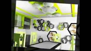 новый дизайн кухни, шкафы, стеллажи, полки фасады на кухне, дизайн кухонной мебели(http://fotohudojnik.jimdo.com/ http://tirasdesigner.blogspot.com/ дизайн кухни с цветами на фасадах кухонного гарнитура,темные обои,..., 2014-01-29T22:35:59.000Z)