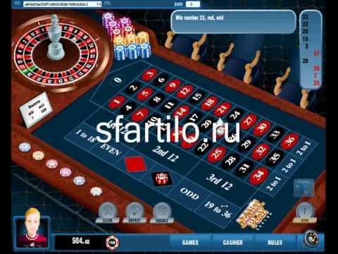 Система игры в рулетку Мартингейл / Martingale Betting System