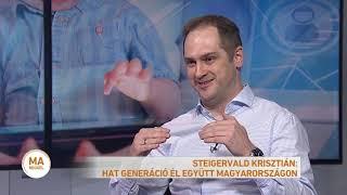 Steigervald Krisztián: Hat generáció él együtt Magyarországon