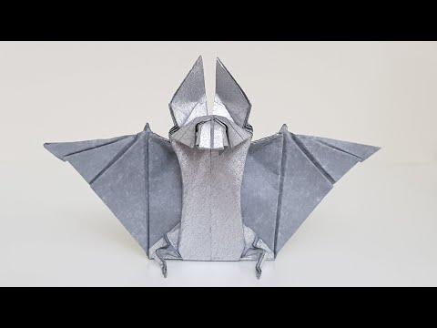 Origami Bat 🦇 Tutorial