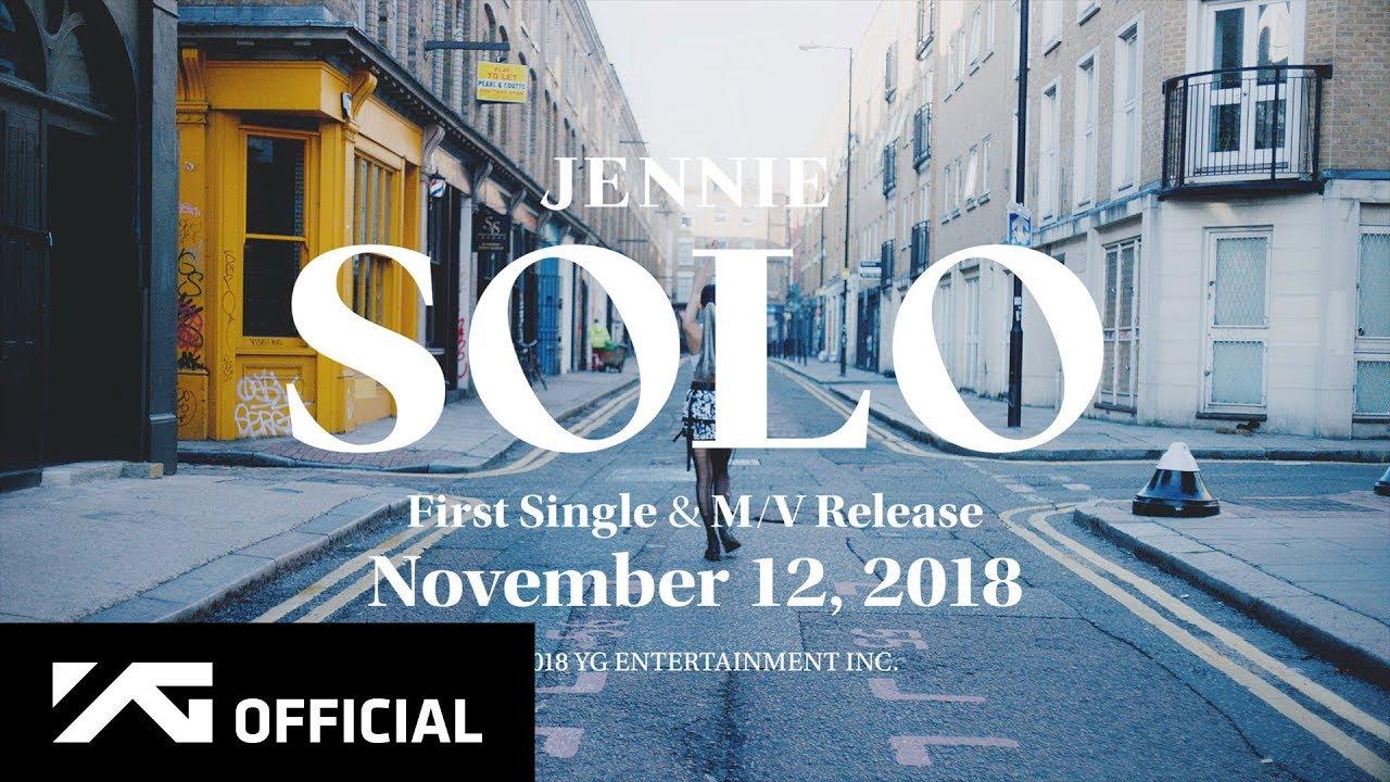 JENNIE — 'SOLO' M/V TEASER