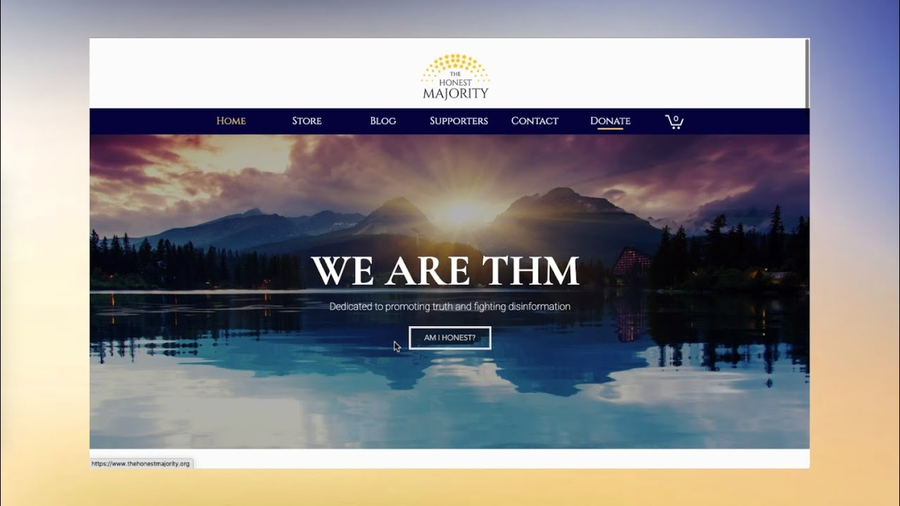 The Honest Majority – A Web Design Project from UX Aglow