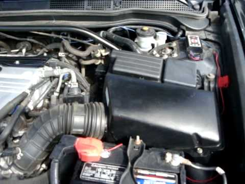 Acura TSX w/ CT-Engeering Icebox Cold Air Intake - YouTube