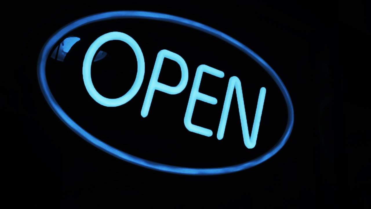 ...abierto las 24 horas...