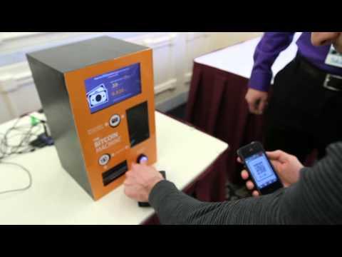 Digital Dollars- A Bitcoin Machine In Operation At Nashua's Liberty Forum