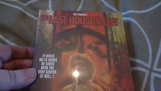 The Last House On The Left Limited Edition Bluray Unboxing