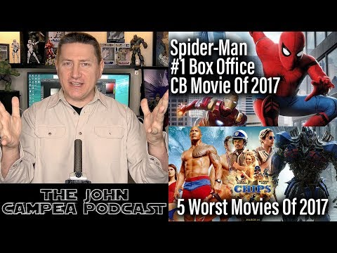 Spider-Man Becomes #1 Box Office Comic-Book Movie Of 2017 - The John Campea Podcast
