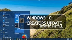 How to Install Windows 10 Creators Update