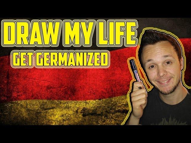 German Draw my Life - Zeichne mein Leben | Get Germanized Edition