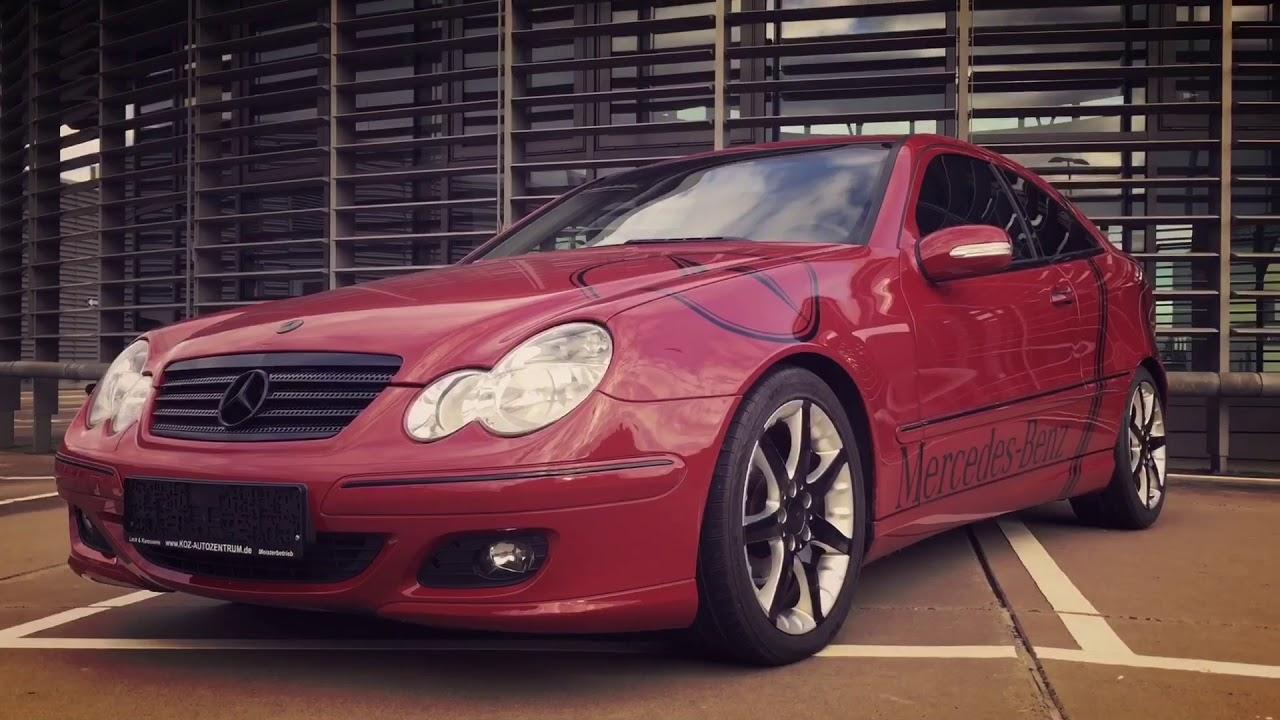 Zu Verkaufen For Sale Mercedes Benz C 220 Cdi Sportcoupe Dpf Red Black Tuning Edition Koz4life