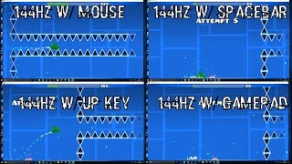 60hz vs 144hz the science to geometry dash what actually causes players to get good