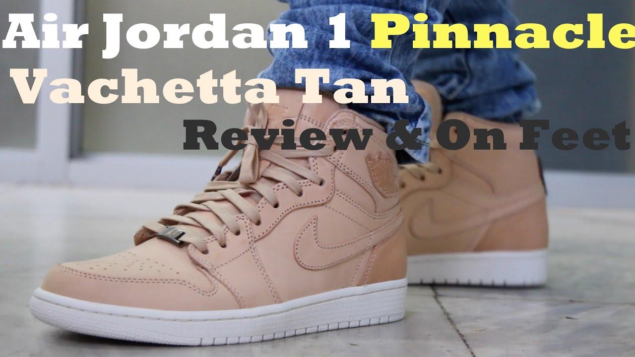 Jordan 1 Pinnacle On Feet