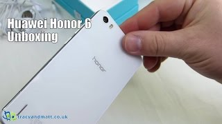Huawei Honor 6 Unboxing