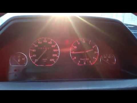 Подсветка панелей Audi 100 c3 1985