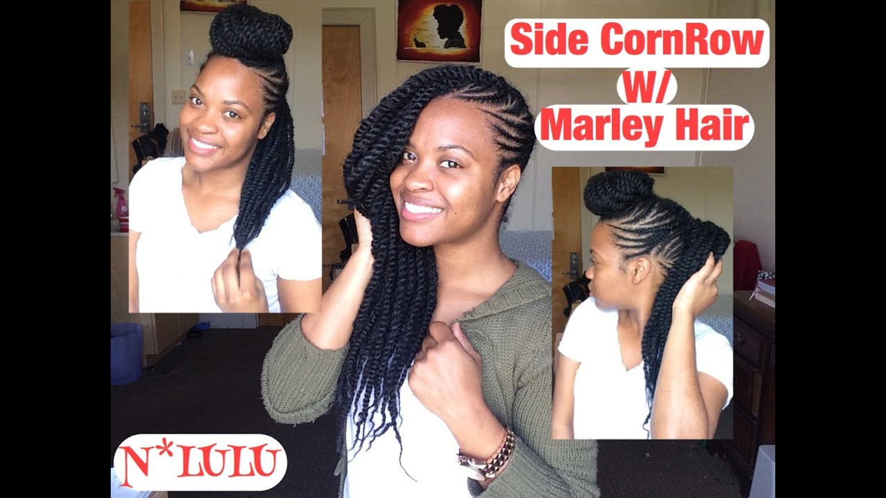 side cornrows hairstyles fade haircut