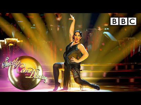 michelle-and-giovanni-quickstep-to-'cabaret'-|-movie-week---bbc-strictly-2019