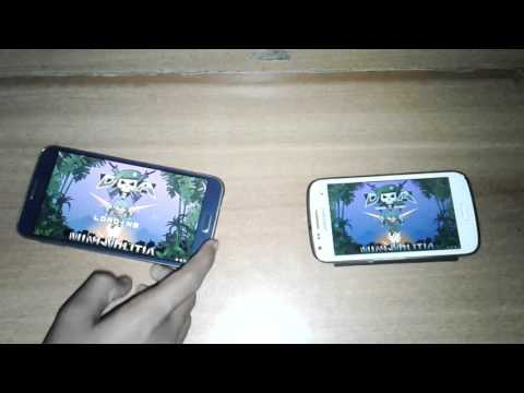 How to play mini milita multiplayer without internet