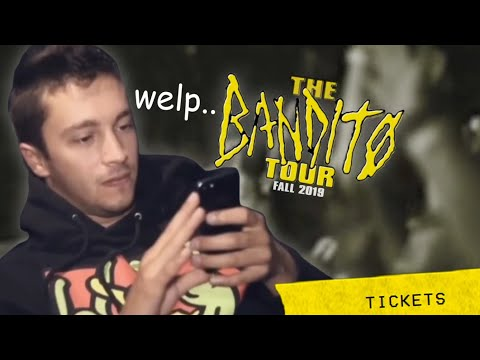 Bandito Tour Part 2 went wrong already - Twenty One Pilots