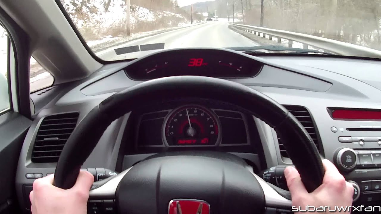 TRU POV: Drive A 2009 Honda Civic Si Sedan   YouTube