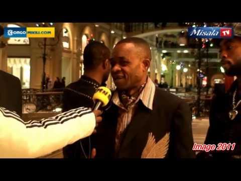 MOSCOU EN DEUIL!!! hommage a l'artiste joseph AKIM MABAYA