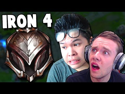 THIS IS WHAT IRON 4 LOOKS LIKE! ft. Redmercy | League of Legends thumbnail