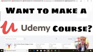 How To Make a UDemy Course - How I Earned $2,000 my first 90 days on UDemy