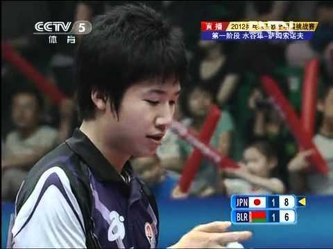 2012 Euro-Asia (game3) SAMSONOV Vladimir - MIZUTANI Jun [Full Match/Chinese]