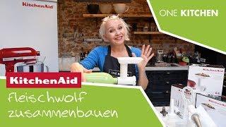 KitchenAid Fleischwolf | Teil 1: So wird der Fleischwolf zusammengebaut | by One Kitchen