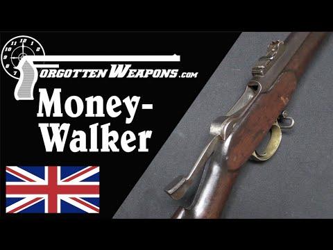 British Money-Walker 1868 Trials Rifle