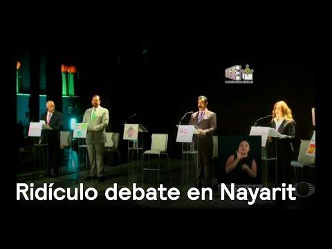 Debate en Nayarit es ridículo - Política - En Punto con Denise Maerker -