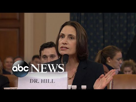 Sondland was 'involved in a domestic political errand,' not national security: Hill | ABC News