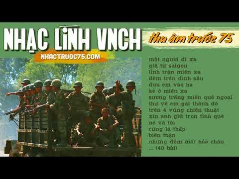 Tuyệt Phẩm Nhạc Lính Việt Nam Cộng Hòa Hay Nhất - Thu âm Trước 1975