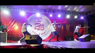 My first performance on stage. Happy 25 Anniversary To Esgis  university Lome Togo