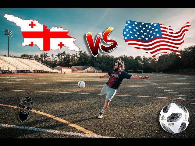 საქართველო VS ამერიკა საფეხბურთო მატჩი - Go Lets Play